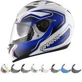 Shark S700-S Guintoli Replica Motorcycle Helmet & Visor