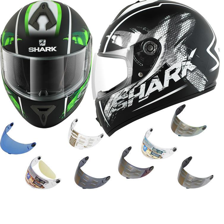 Shark S600 Mat Exit Motorcycle Helmet & Visor