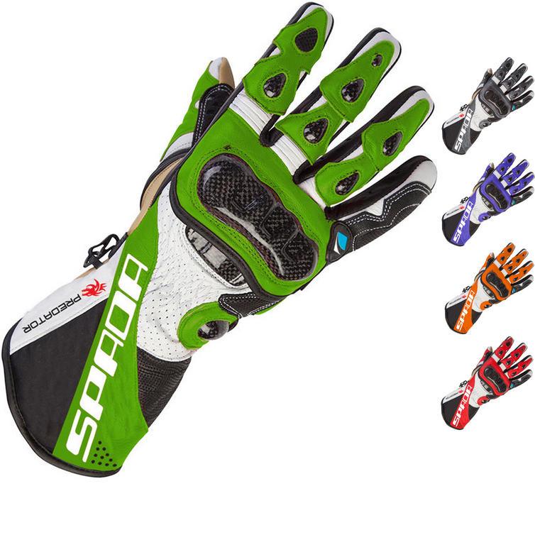 Spada Predator 2 Leather Motorcycle Gloves