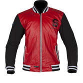 Spada Campus Leather Motorcycle Jacket