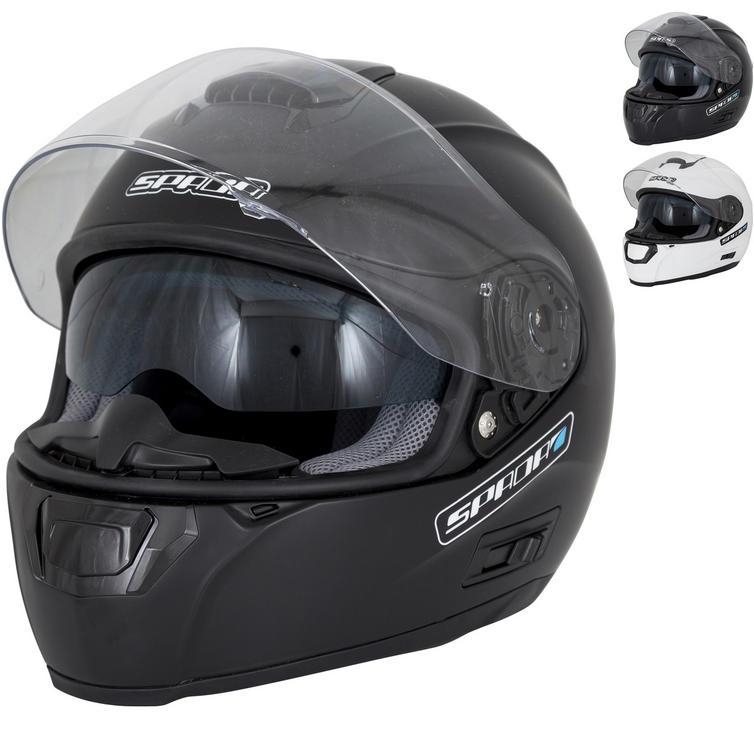 Spada SP16 Plain Motorcycle Helmet