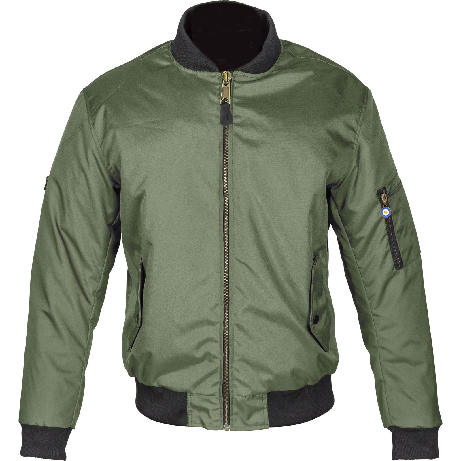 Spada Air Force One Motorcycle Jacket Bomber Motorbike WP ...