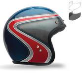 Bell Custom 500 Airtrix Heritage SE Motorcycle Helmet MXL Visor Kit