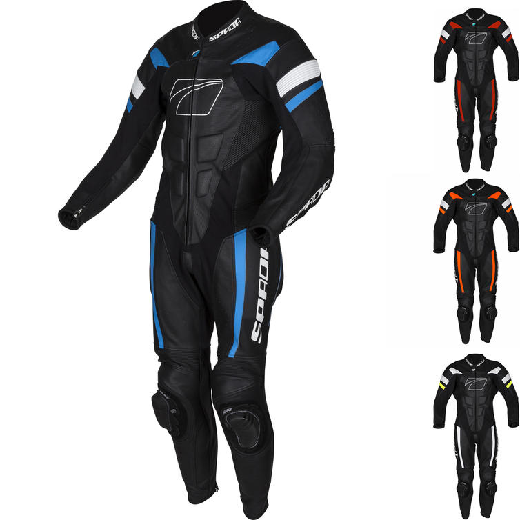 Spada Curve Evo 1-Piece Leather Motorcycle Suit