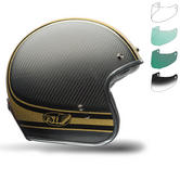 Bell Custom 500 Carbon RSD Bomb Motorcycle Helmet Bubble Deluxe Visor Kit