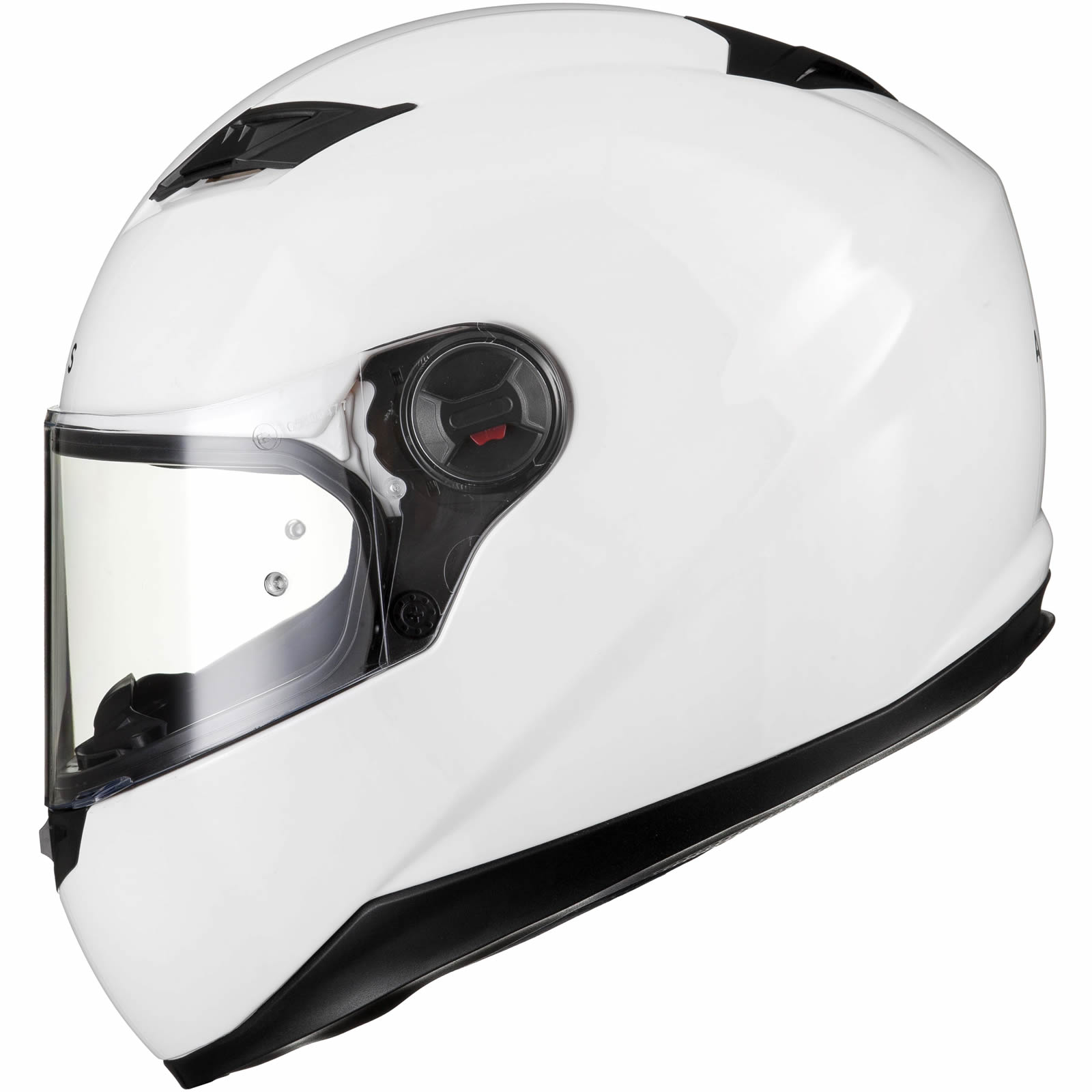 Agrius Rage Solid Motorcycle Helmet L Gloss White For Sale Online Ebay