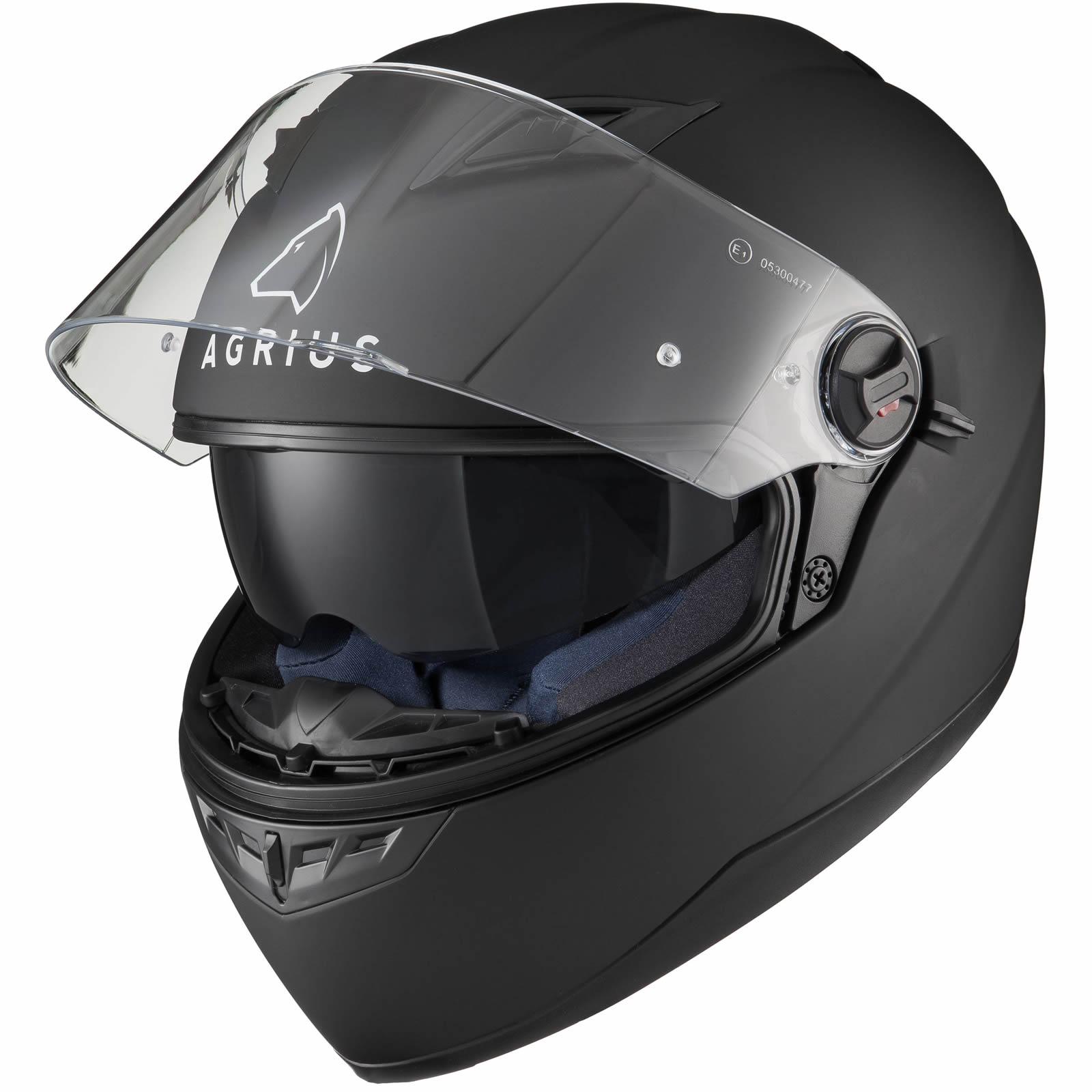 Agrius Rage Sv Solid Full Face Motorcycle Helmet Motorbike Inner