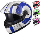 Agrius Rage SV Warp Motorcycle Helmet (Pinlock Ready)