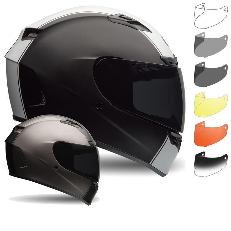 Bell Qualifier DLX Motorcycle Helmet & Nutra Fog II Visor