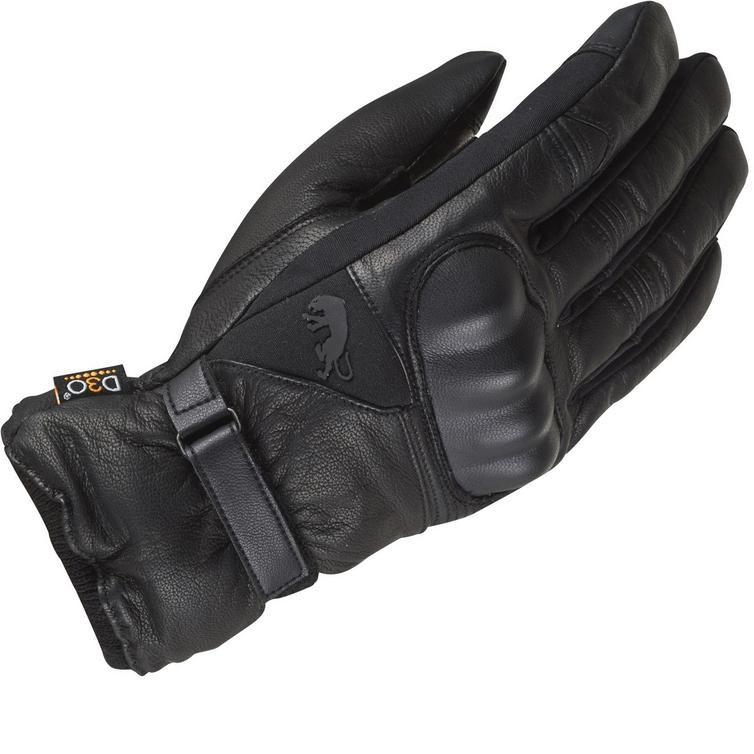 Furygan Midland D3O Leather Motorcycle Gloves