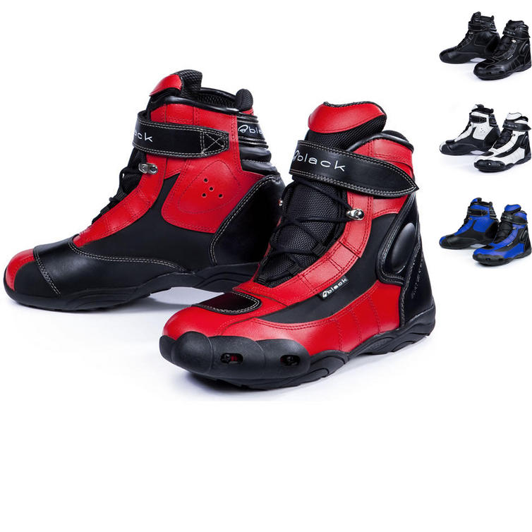 Black FC-Tech Motorcycle Boots - Boots - Ghostbikes.com b47ee923dae