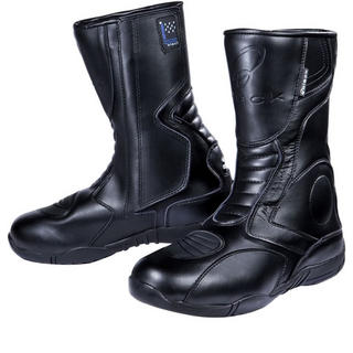 Black Stealth Evo Motorcycle Boots