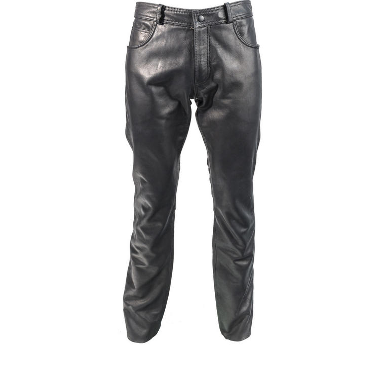 Richa Classic Leather Motorcycle Trousers