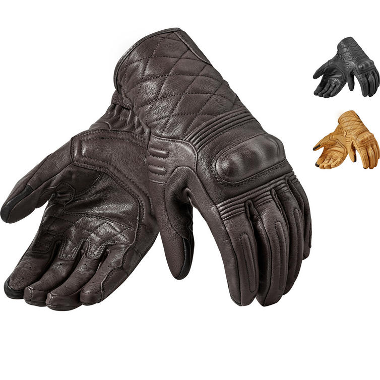 Rev It Monster 2 Leather Motorcycle Gloves