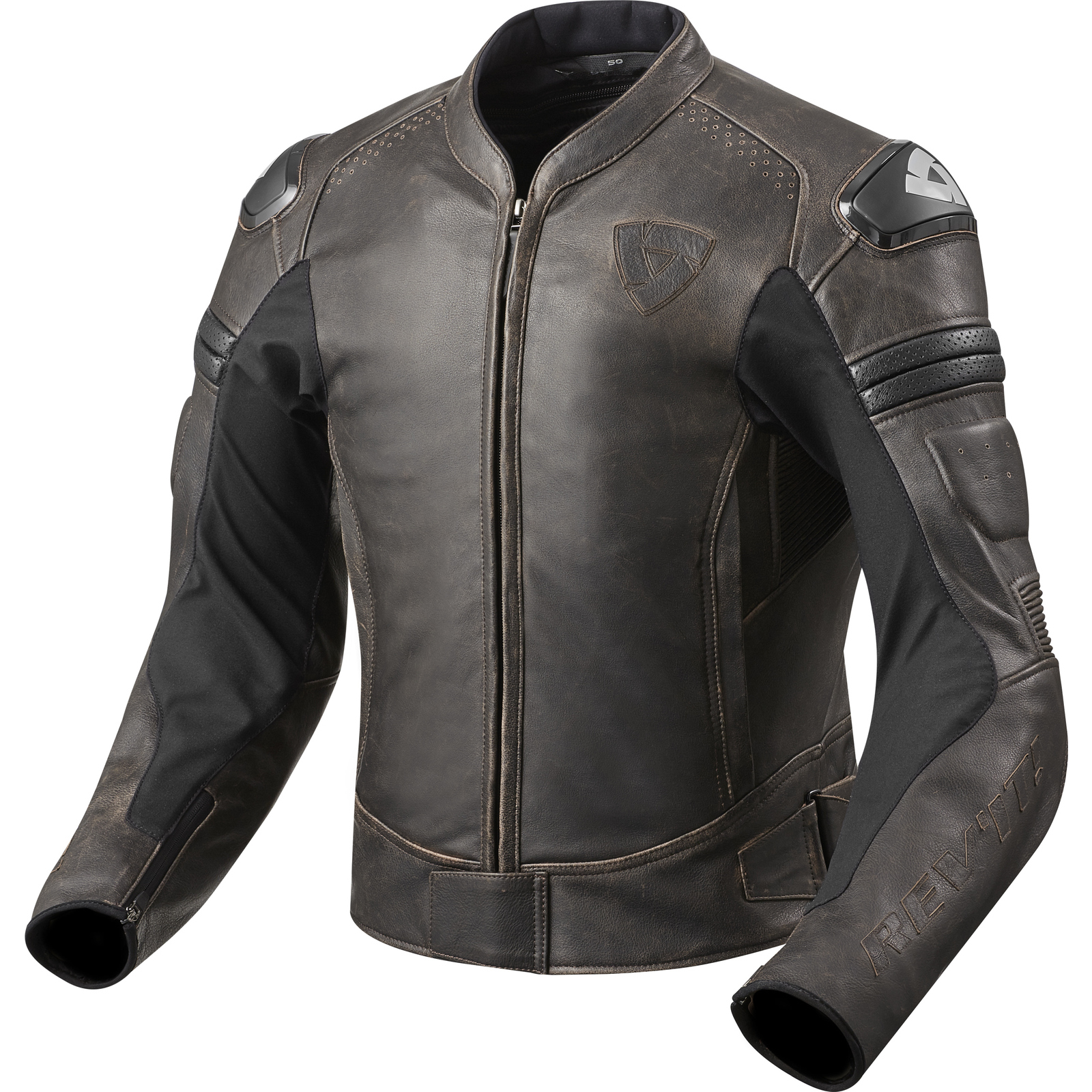 Retro motorcycle leather jackets