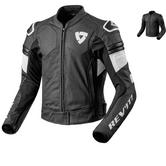 Rev It Akira Air Leather Motorcycle Jacket