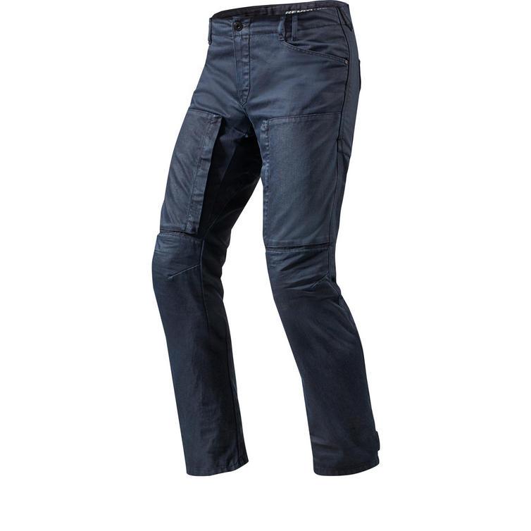 Rev It Recon Solid Dark Blue Motorcycle Jeans