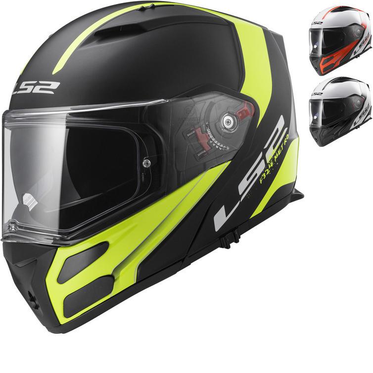 LS2 FF324.21 Metro Rapid Flip Front Motorcycle Helmet