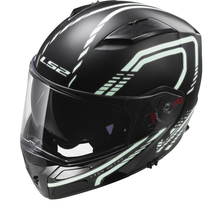 LS2 FF324.21 Metro Firefly Flip Front Motorcycle Helmet