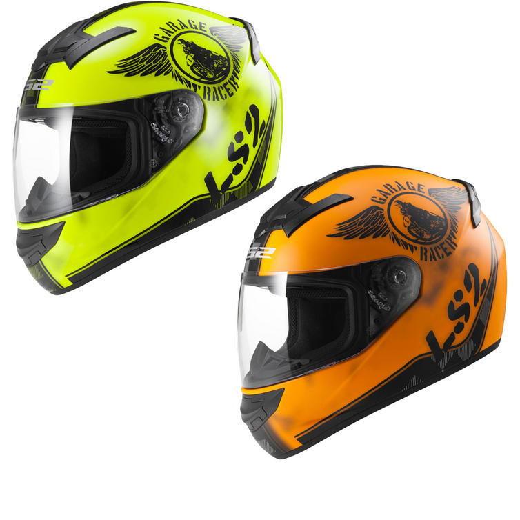 LS2 FF352.32 Rookie Fan Motorcycle Helmet