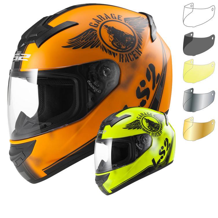 LS2 FF352.32 Rookie Fan Motorcycle Helmet & Visor