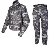 Spada Camo 2 Jacket & Flage Trousers Camo Motorcycle Kit