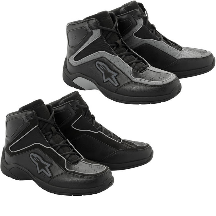 4d60d93357e Alpinestars Blacktop Motorcycle Riding Shoe - Boots - Ghostbikes.com