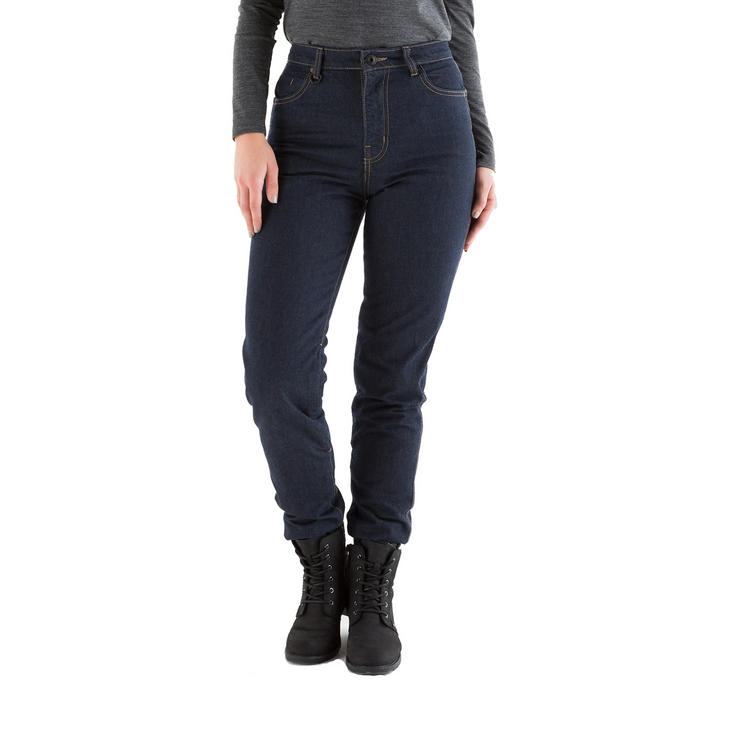 Knox Roseberry Ladies Blue Motorcycle Jeans