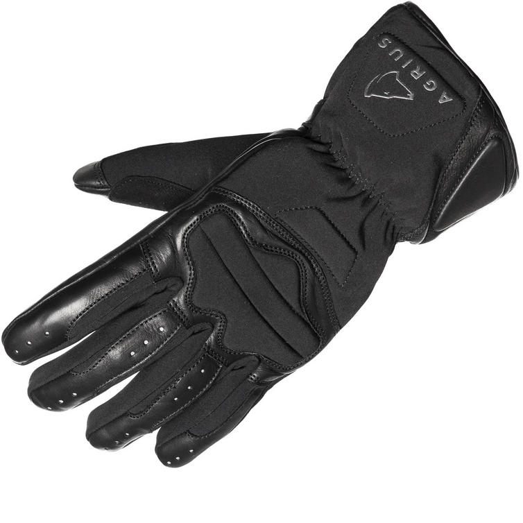 Agrius Slate Leather Motorcycle Gloves
