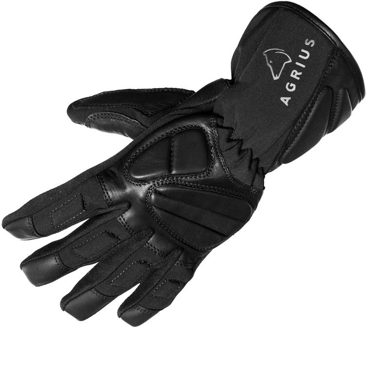 Agrius Warp Leather Motorcycle Gloves