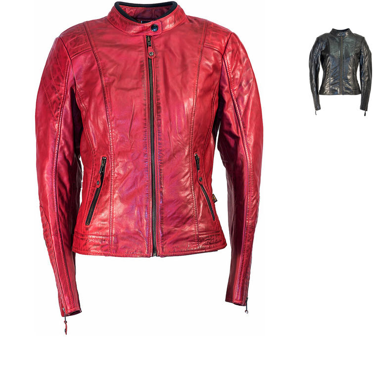 Richa Lausanne Ladies Leather Motorcycle Jacket