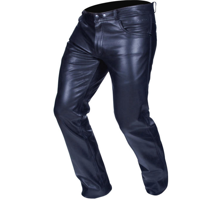 Buffalo Classic Leather Motorcycle Jeans