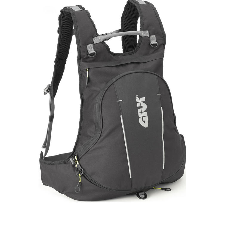 Givi Easy-T Range Expandable Rucksack with Helmet Bag 22L Black (EA104B)