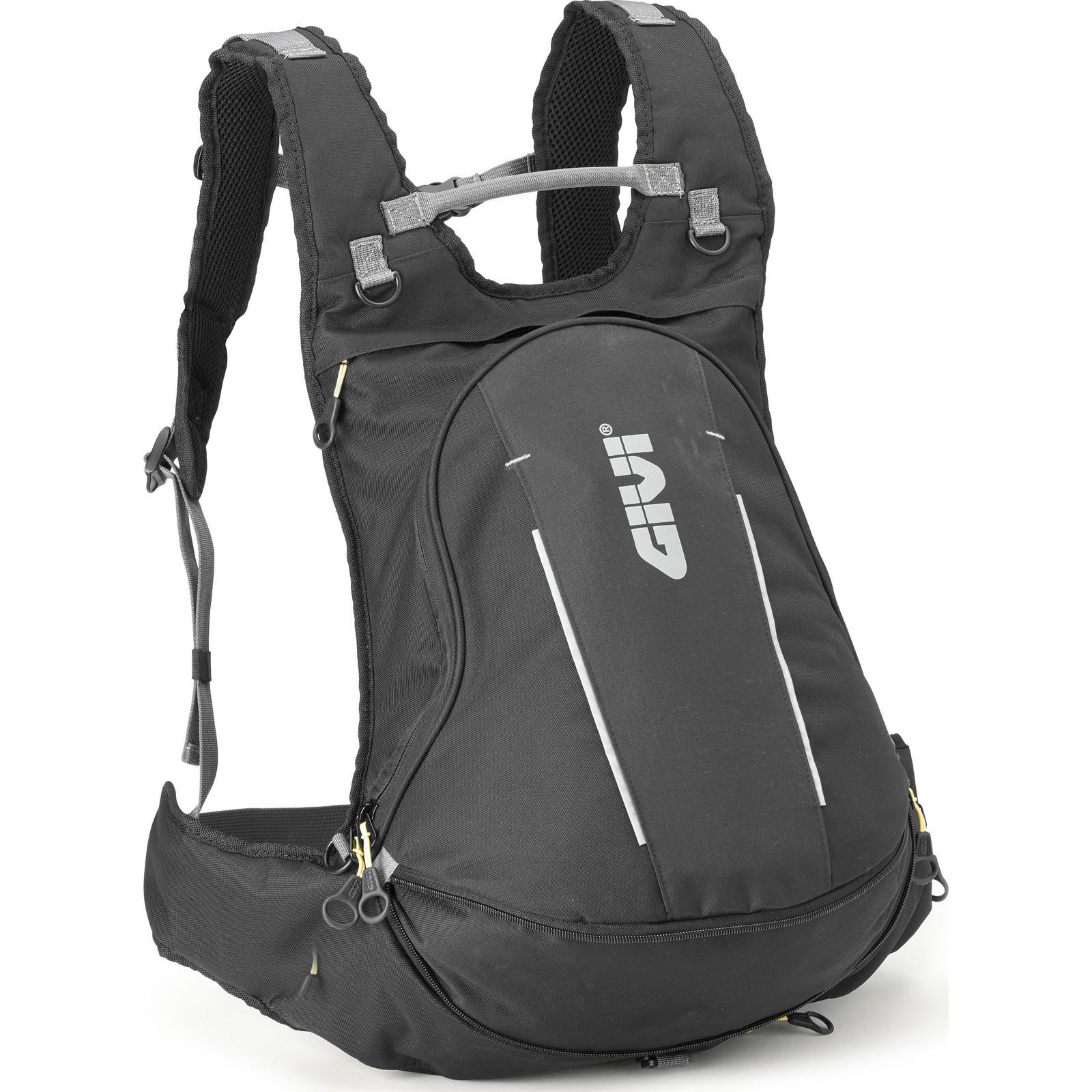 Sentinel Ea104b Givi Easy T Range Expandable Rucksack With Helmet Bag 22l Black