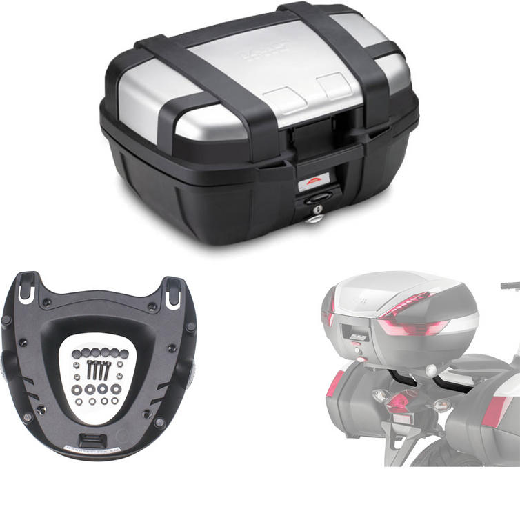 Givi 52L Topcase Kit for Honda NC700X 12-13 (TRK52N / M5 Monokey / 1111FZ)