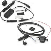 Givi 12v Electrical Handlebar Outlet (S110) + USB Power Hub Kit For Tank Bag (S111)