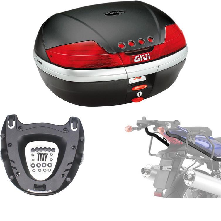 Givi 46L Topcase Kit for Suzuki SV 650 & 650 S 03-08 (V46N / M5 Monokey / 529FZ)