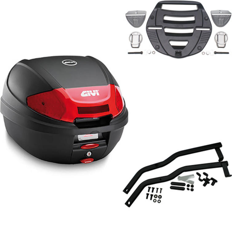 Givi 30L Topcase Kit for Suzuki GS 500 E & 500 F (E300N2 / MM Monolock / 526F)