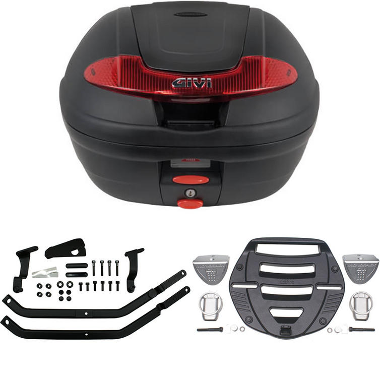 Givi 34L Topcase Kit for Yamaha FZS Fazer 600 98-03 (E340N / MM Monolock / 340F)