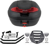 Givi 34L Topcase Kit for Yamaha FZS Fazer 600 98-03 (E340N / MM Monolock / 340F)