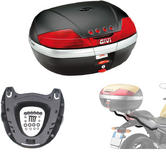 Givi 46L Topcase Kit for Yamaha XJ6 & Diversion (V46N / M5 Monokey / 364FZ)