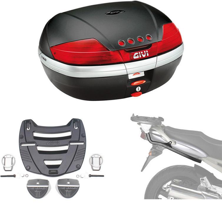 Givi 46L Topcase Kit for Yamaha TDM 900 02-14 (V46N / M3 Monokey / 347F)
