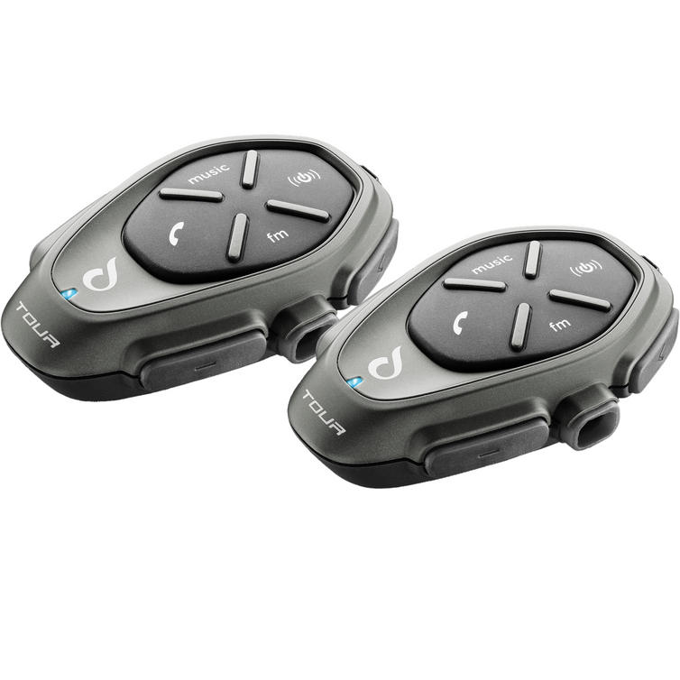 Interphone Tour (Bike 2 Multi Bikes) Intercom System Twin Pack