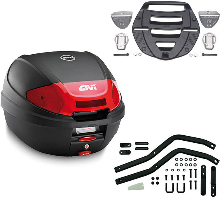 Givi 30L Topcase Kit for Yamaha YZF 600 Thundercat (E300N2 / MM Monolock / 338F)