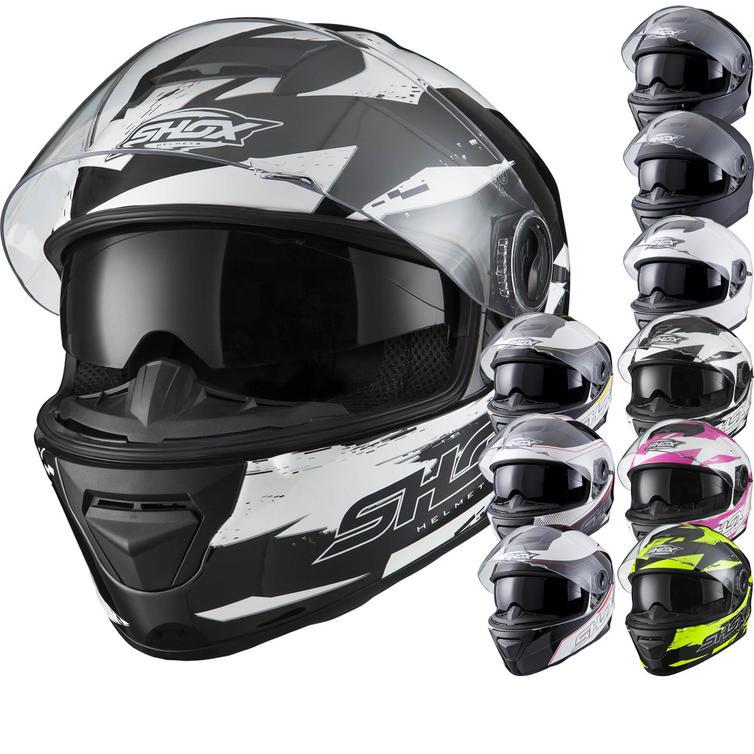 Shox Assault ACU Motorcycle Helmet