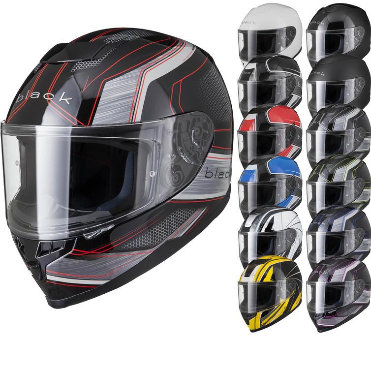 Black Titan ACU Motorcycle Helmet