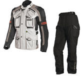 Richa Touareg Motorcycle Jacket & Trousers Grey Black Kit