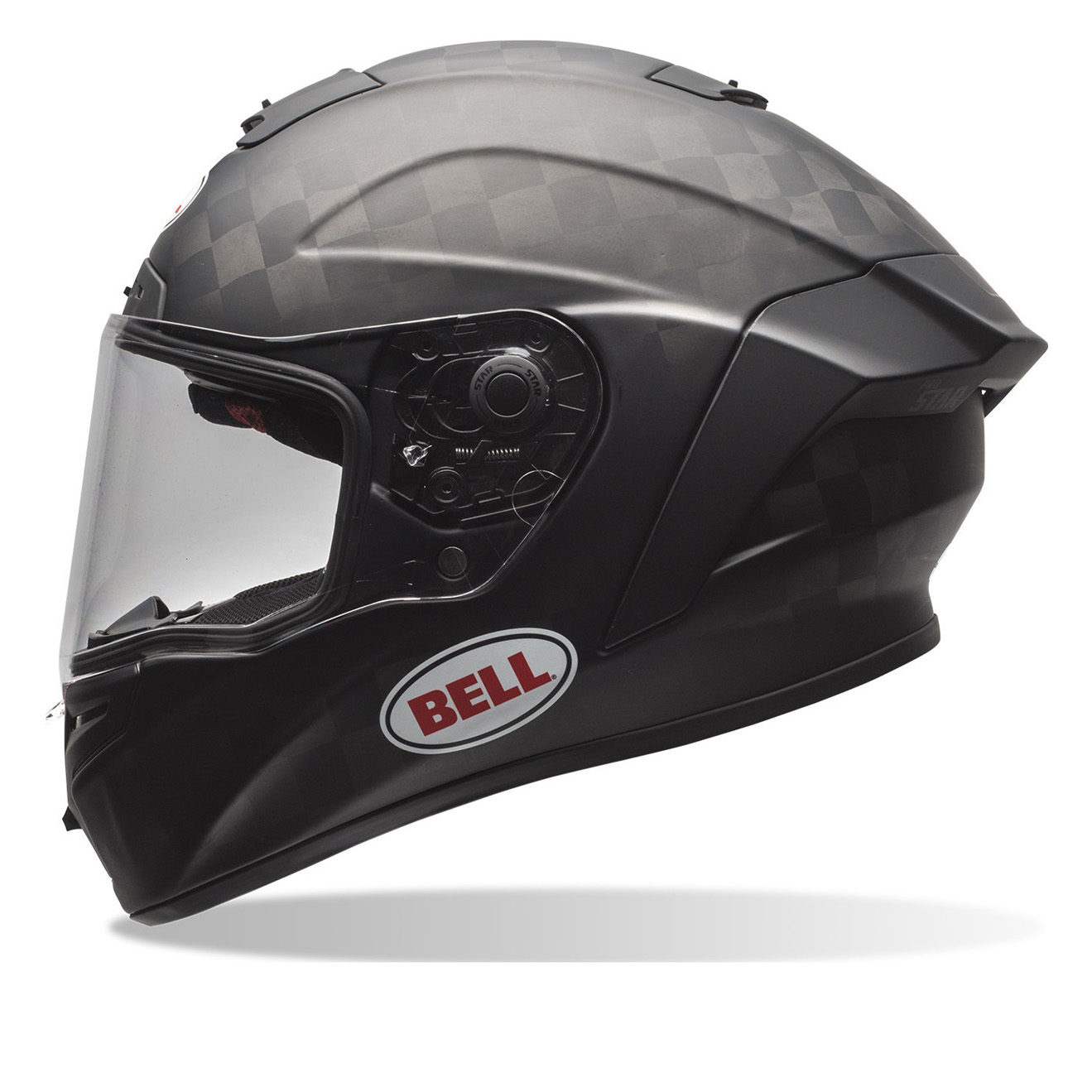 bell pro star solid motorcycle helmet full face helmets. Black Bedroom Furniture Sets. Home Design Ideas