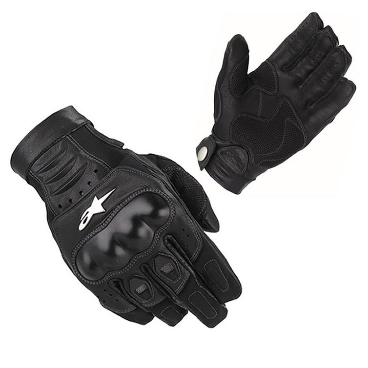 Alpinestars Alloy Motorcycle Gloves - Gloves - Ghostbikes.com b7db4b1a6fa9
