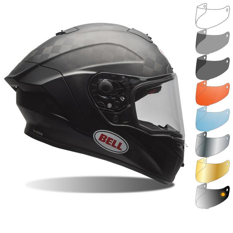 Bell Pro Star Solid Motorcycle Helmet & Visor